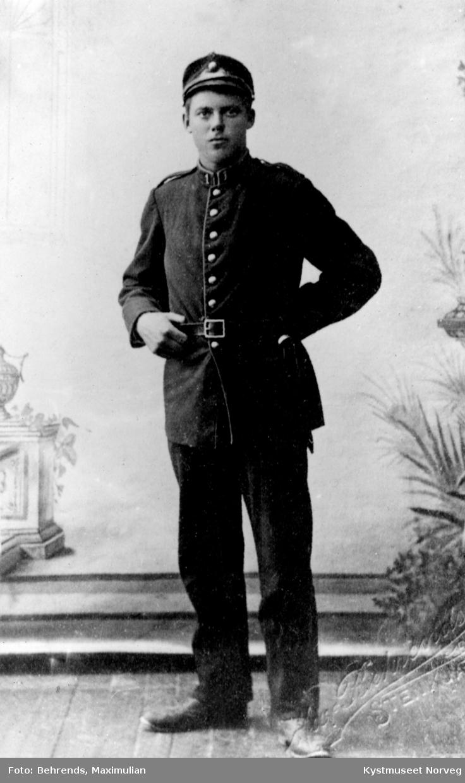 Kristian Horseng i uniform