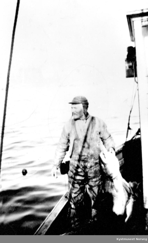Ukjent fisker i båt