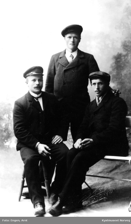 Kristian Myrmo, Jakob Sandnes og Halvdan Waag