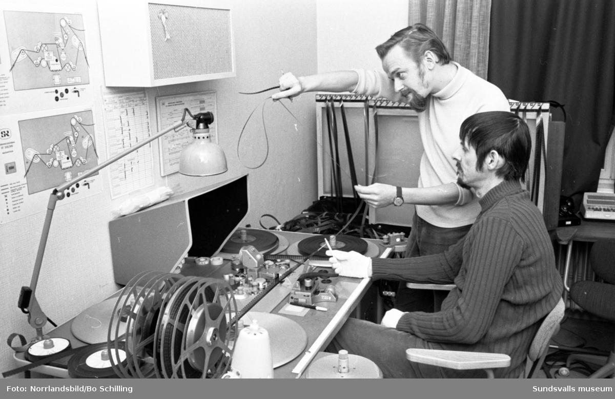 Sveriges Radio Sundsvall, Björn Berge och Stig Ehnebom.
