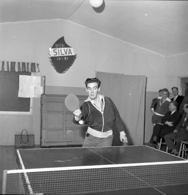 "Enligt notering: ""Bordtennis Silver dec -59""."