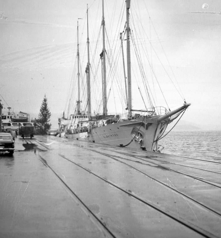 Broströmskoncernens elevfartyg ALBATROSS
