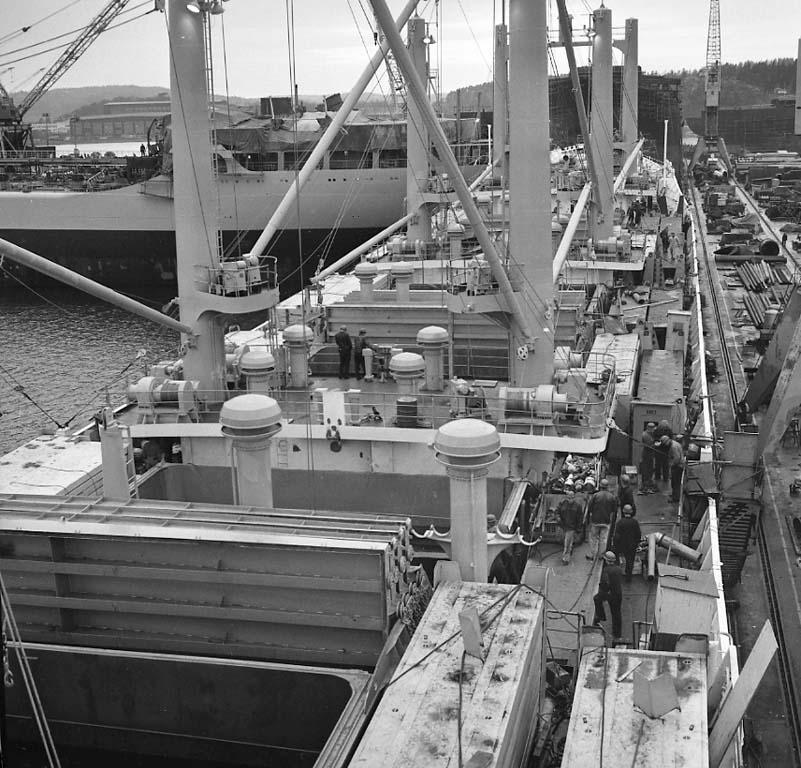 Fartyg på varvet