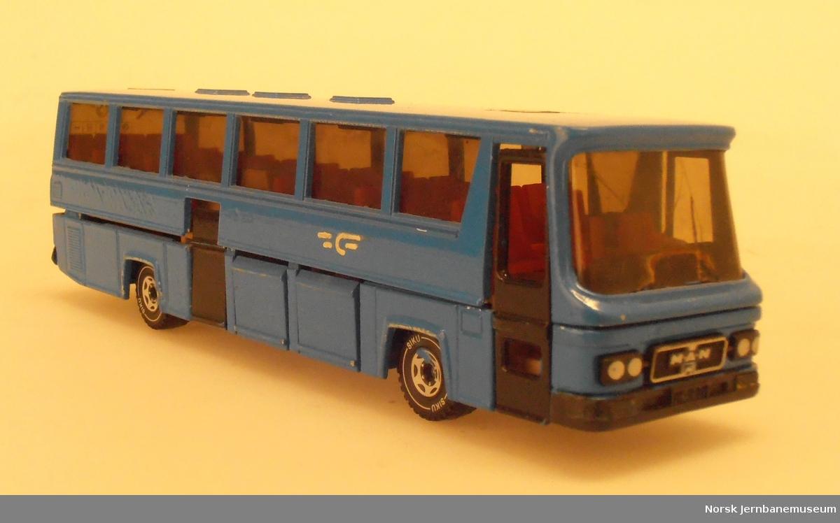 Modell av buss MAN