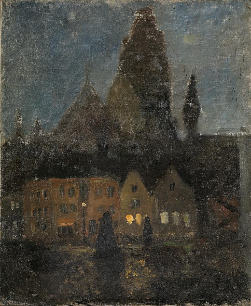 Kveldstemning, Dieppe [Maleri]