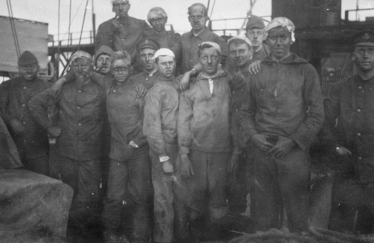 Fylgias resor 1920-21 Efter kolningen