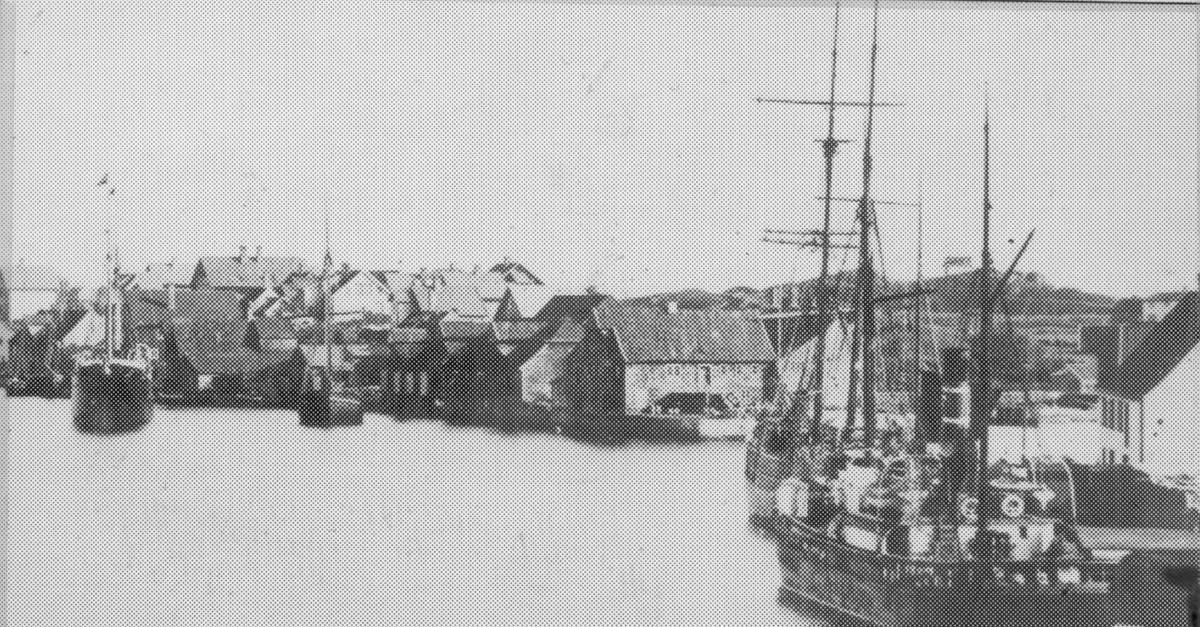 Havn - seil - damp - toll