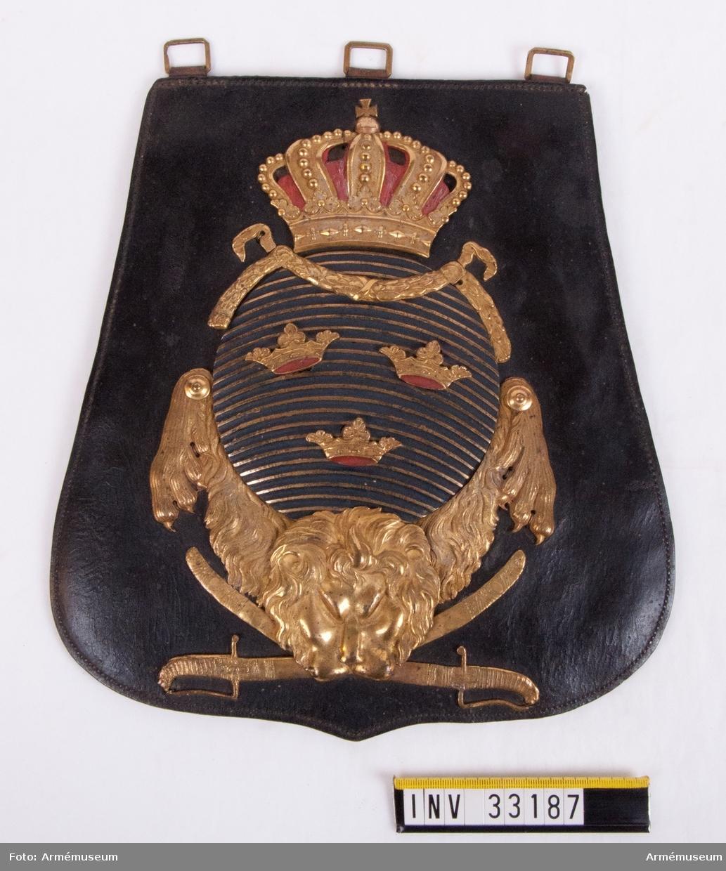 Grupp C II. Tillhörig överstelöjtnant Henrik David Nordenstierna (1786-1870). Uppenbarligen förvärvad med anledning av N:s officersutnämning år 1803.