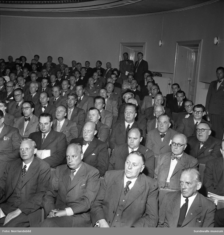 Sveriges Speceri- och Lanthandlareförbund, SSLF, håller kongress i Sundsvall.