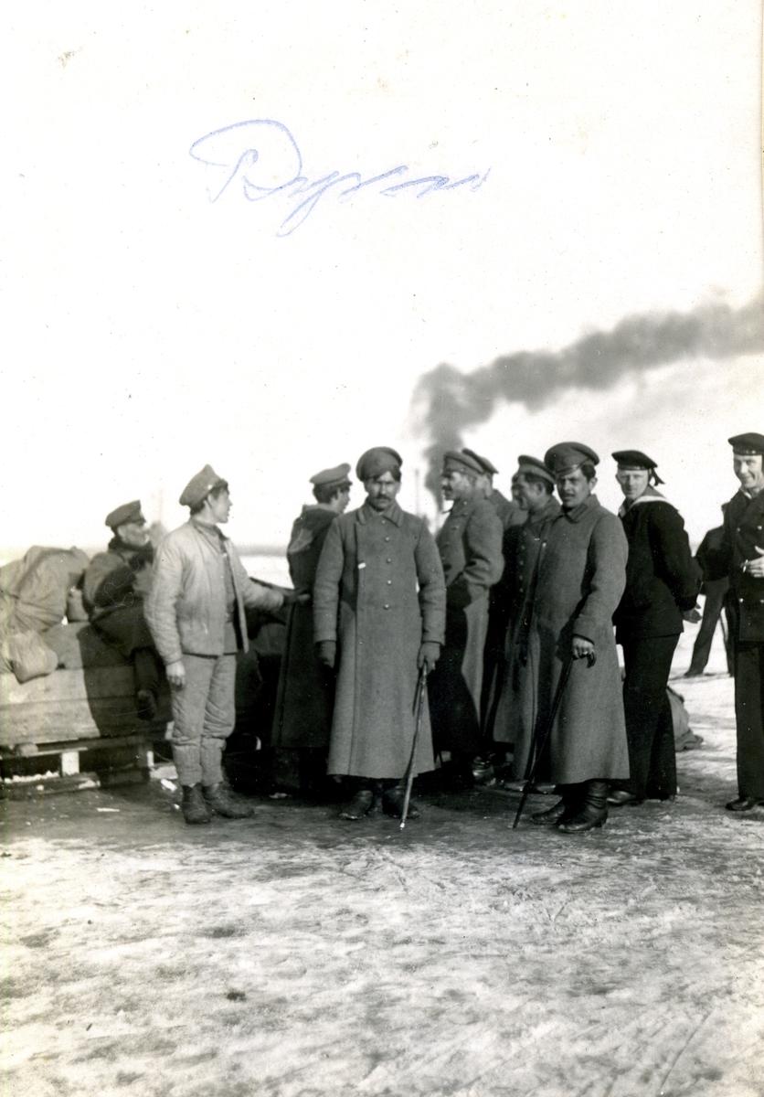 Ryska soldaer på Åland 1917-18