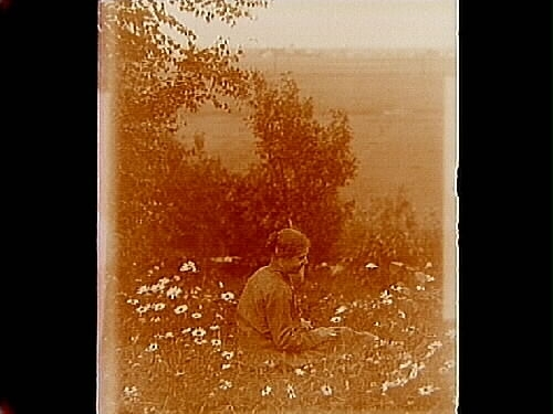 En kvinna, Hulda Lindskog.Sam Lindskogs familjebild.