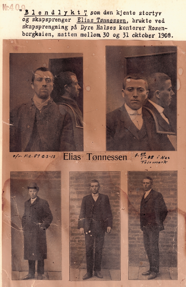 Forbryterbilde Elias Tønnessen