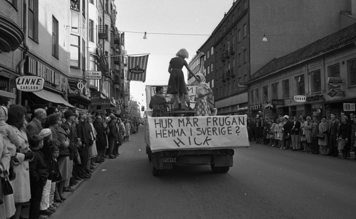 In statu tåget 3 maj 1965