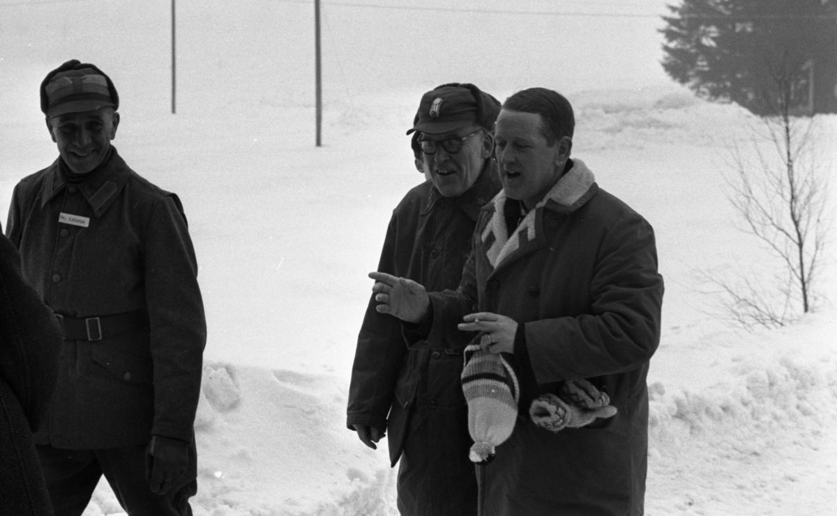 Fängelse, 1 mars 1966Militärövning Villingsberg Överste Sjögren