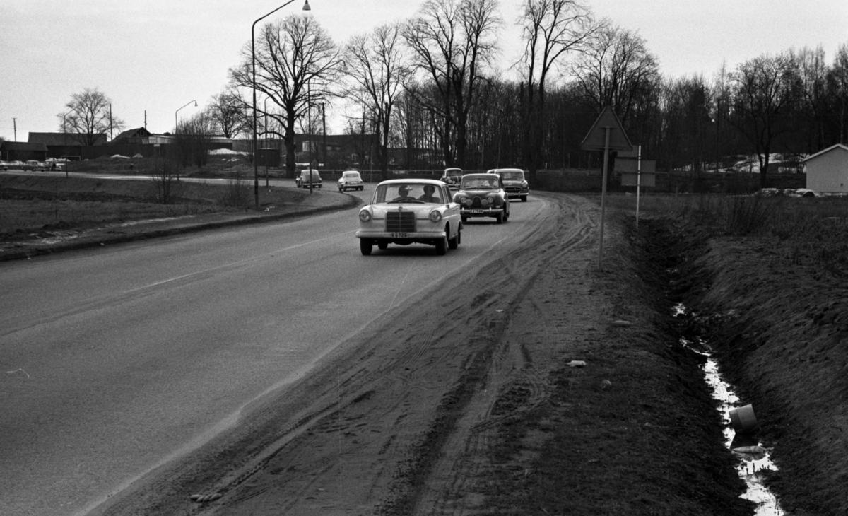 ÖSK ogillar Örnsro 9 april 1966Mercedes 190, Saab 96