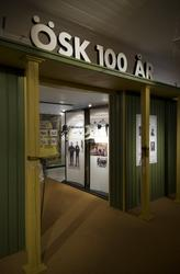 ÖSK 100 år, jubileumsutställning på Idrottshistoriska museet