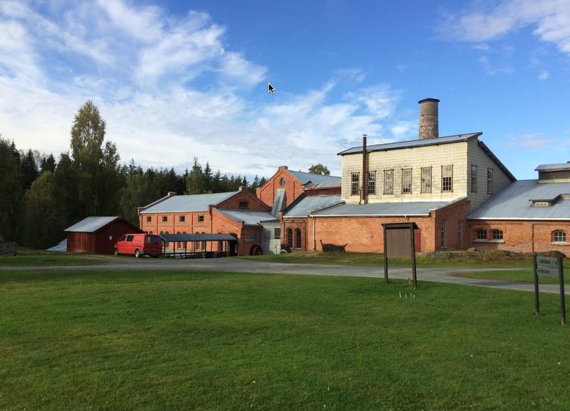 Klevfos industrimuseum, Ådalsbruk i Løten.