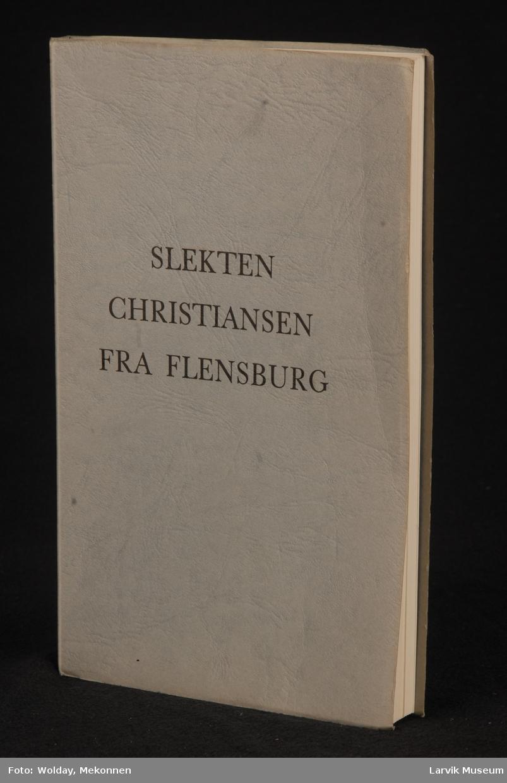 Slekten Christiansen fra Flensburg.