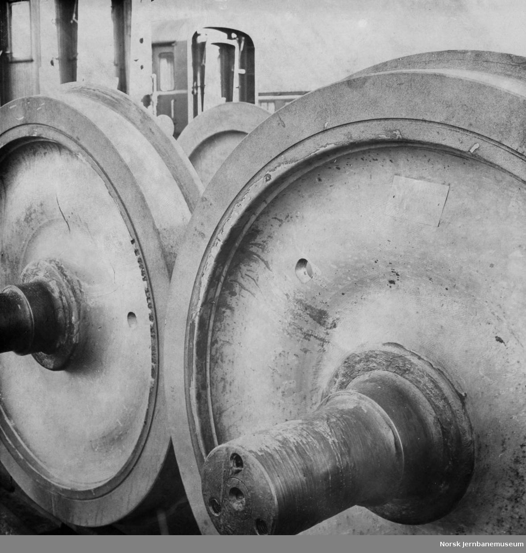 Verkstedet Grorud - lagrede hjulganger