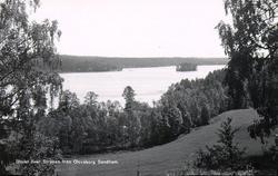 Utsikt över Stråken från Olofsborg, Sandhem.