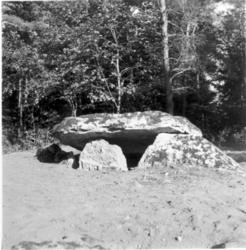 Byallmänning vid Hallabrottet. Stenkammargrav efter uppsnygg