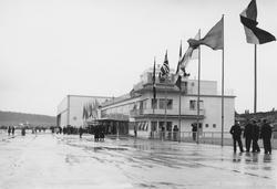 Invigningen av Bromma flygfält i juni 1936 i samband med Ili