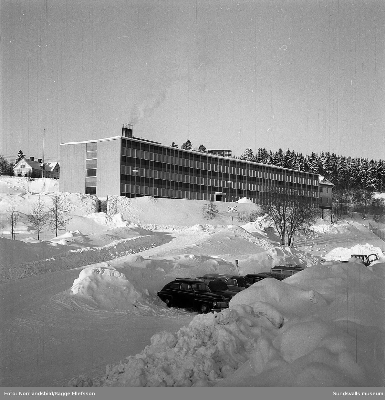 Kontorsbyggnaden vid Sunds Defibrator (Valmet Paper 2016).