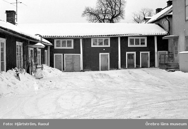 Svanen 6, Prästgatan 6/Kungsgatan i Nora.