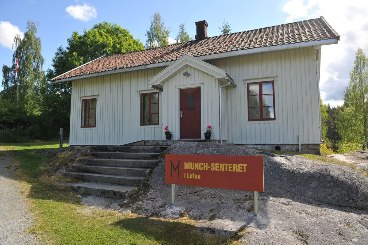 Munch-senteret i Løten. (Foto/Photo)