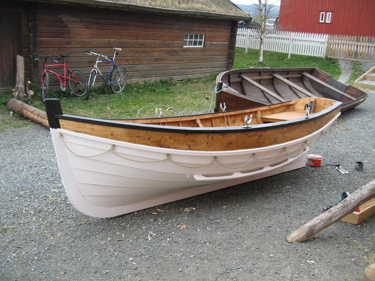 Lifeboat for the steamboat Hansteen.