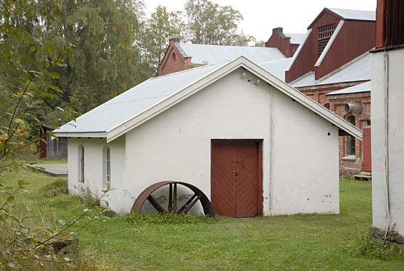 Den gamle smia på Klevfos. (Foto/Photo)