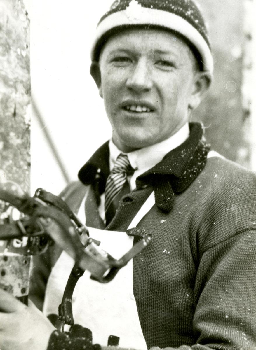 Kongsberg skier Birger Ruud at Gråkallen