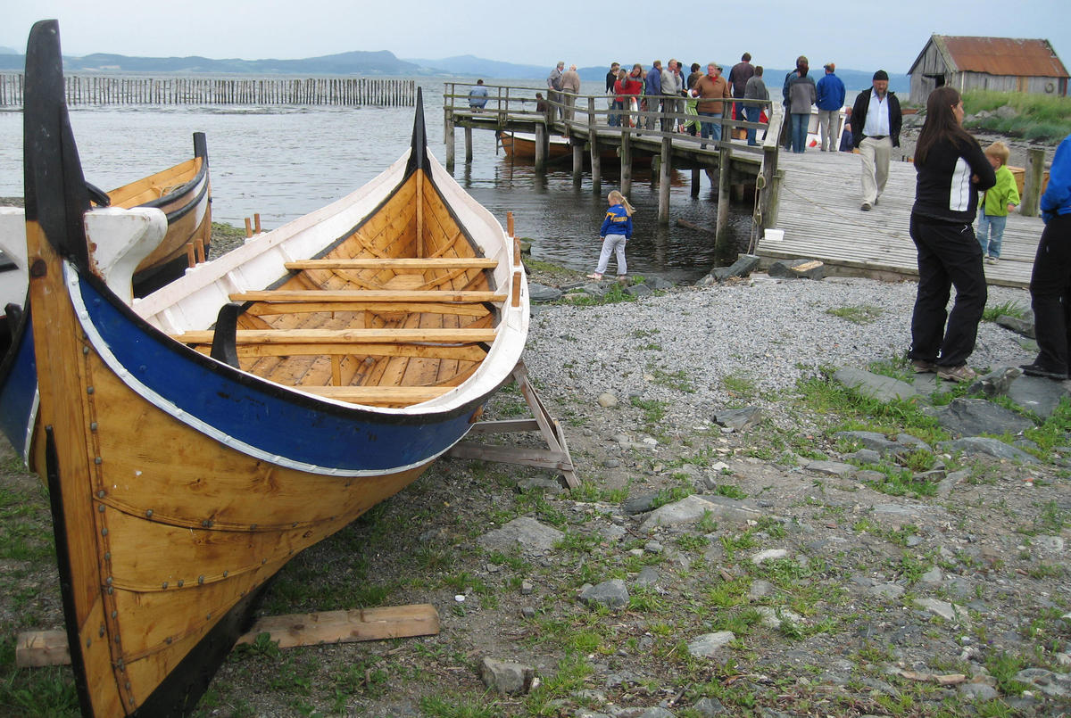 Nordlandsbåt. This is the traditional boat from northern norway.