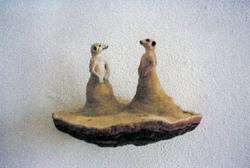Antropomorfe oppstillinger (samtale) [Skulptur]