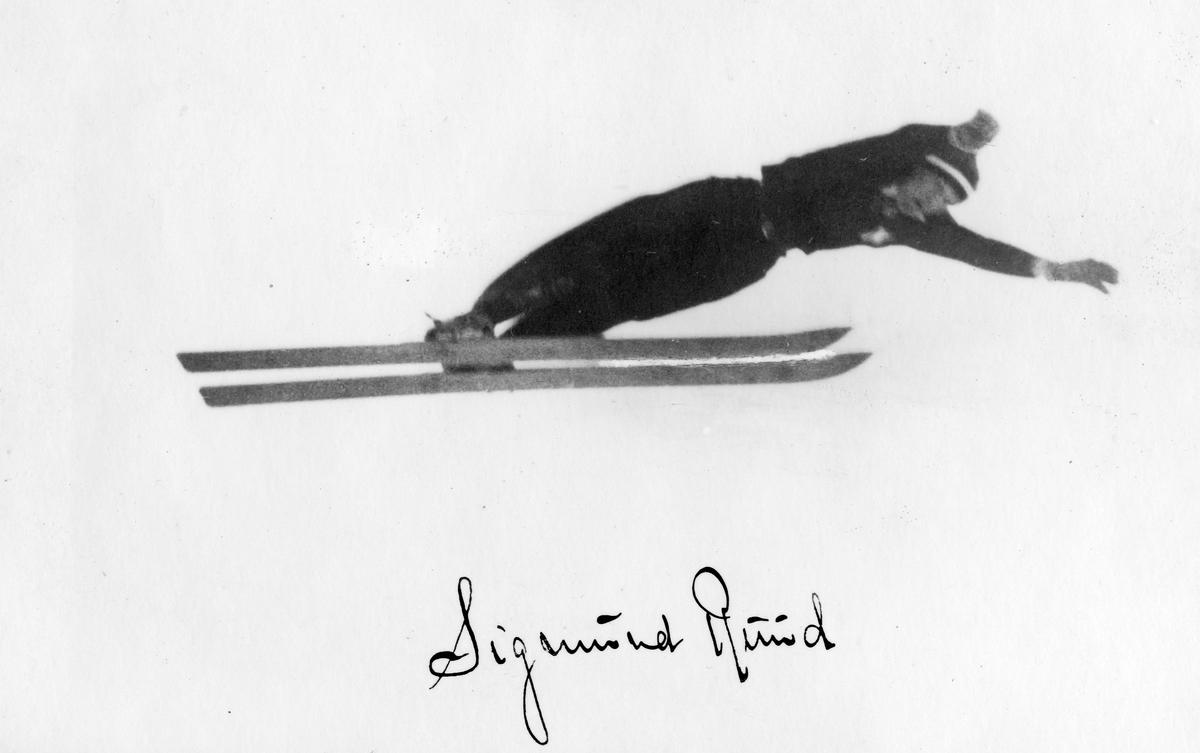 Kongsberg skier Sigmund Ruud in action.