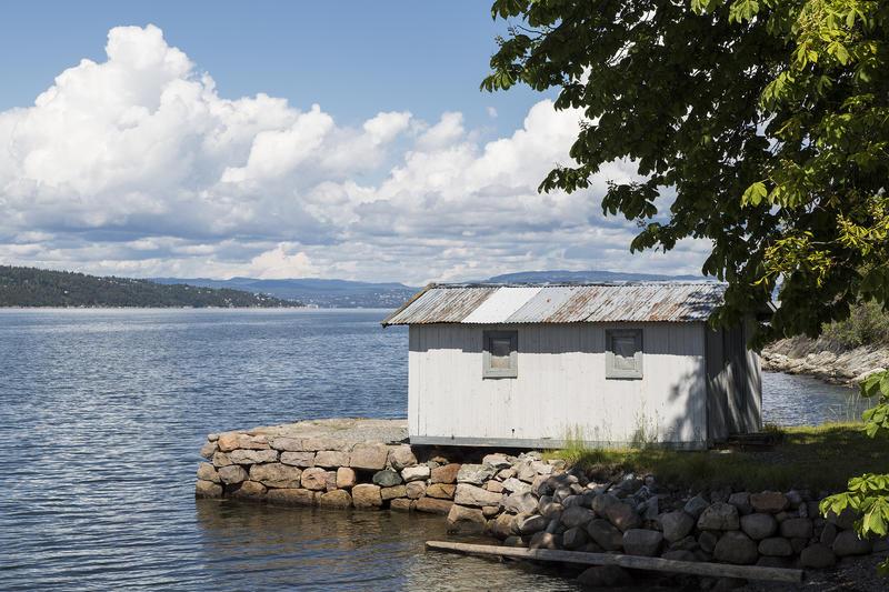 "Badehuset på ""Uranienborg"". (Foto/Photo)"