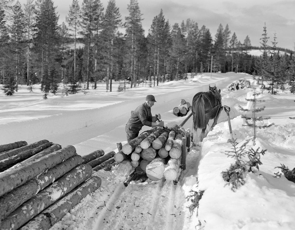 Kjører Kåre Bratteggen i Lundsberget i Trysil 1977.