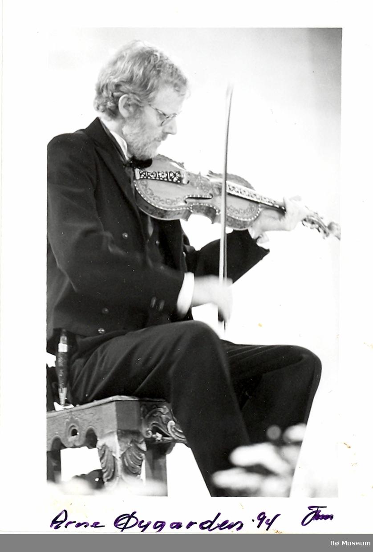 Arne Øygarden, Rauland
