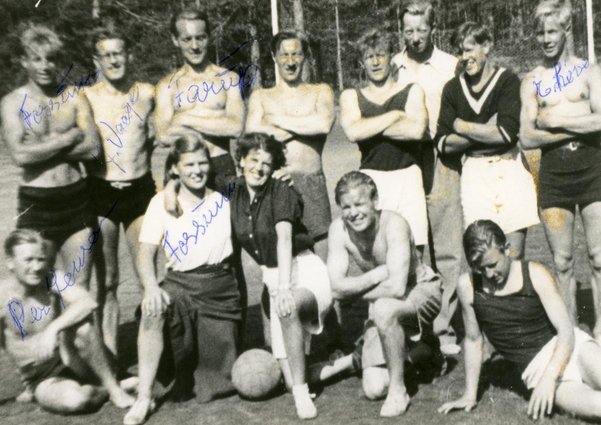 Young athletes at the Ruudhytta cabin