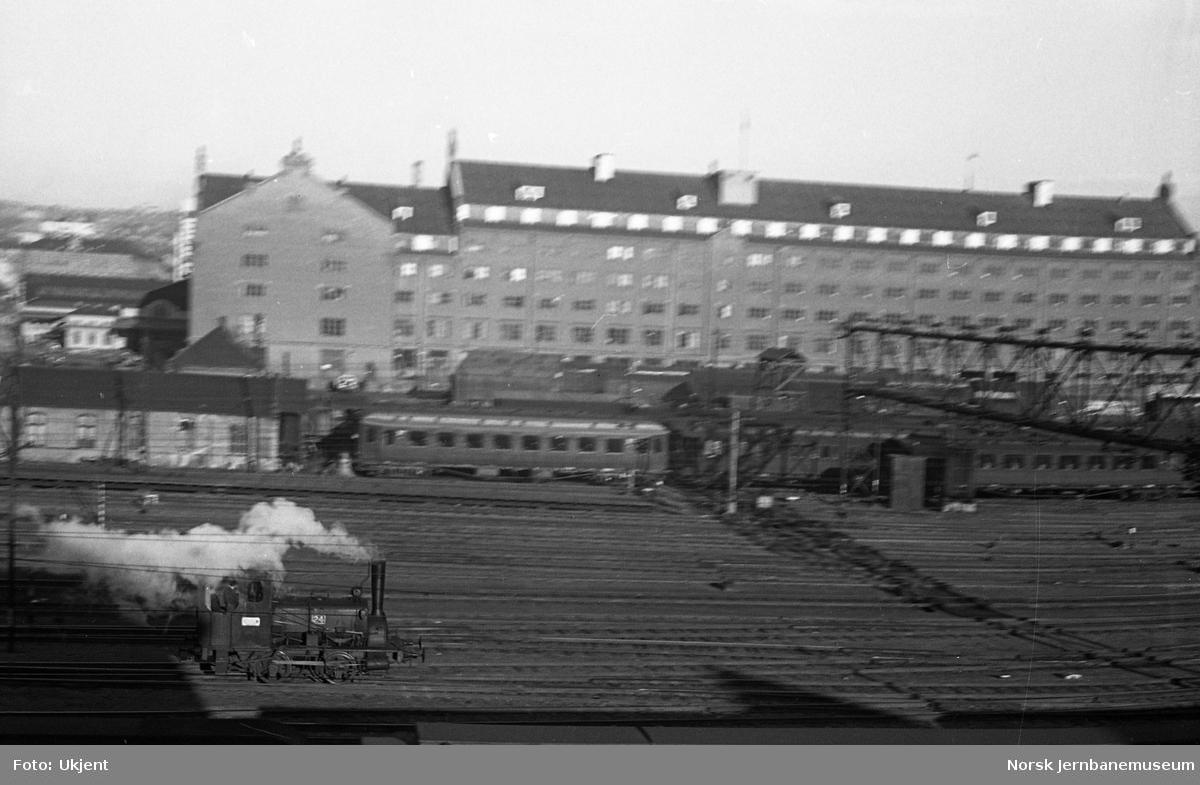 Oslo Ø, skiftelokomotiv på stasjonstomta