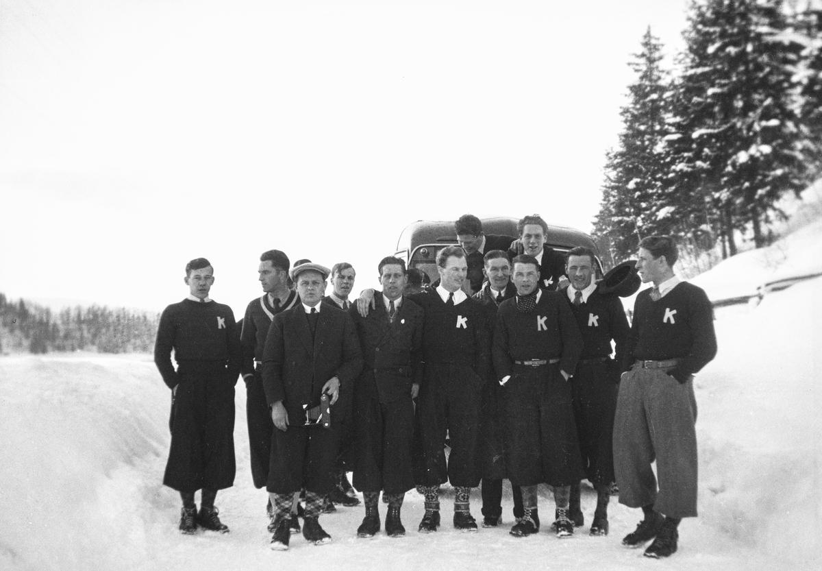 Kongsberg skiers on tour