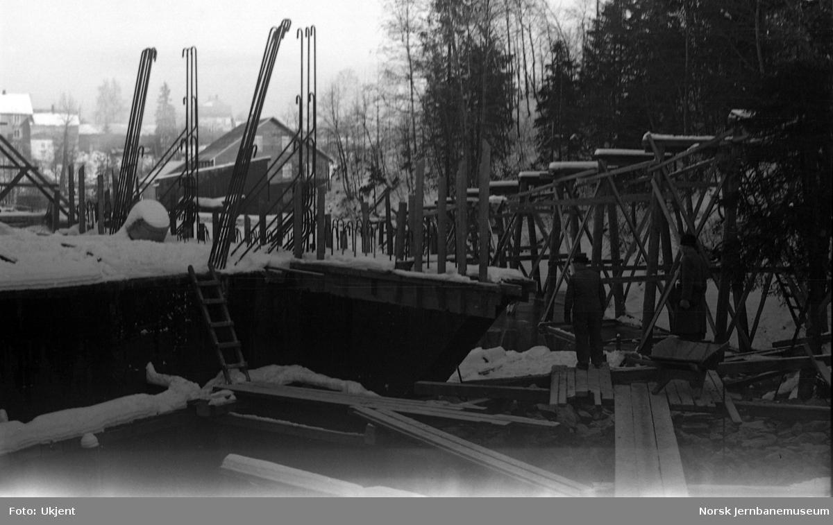 Bygging av kulvert ved Dal til erstatning for jernbanebru