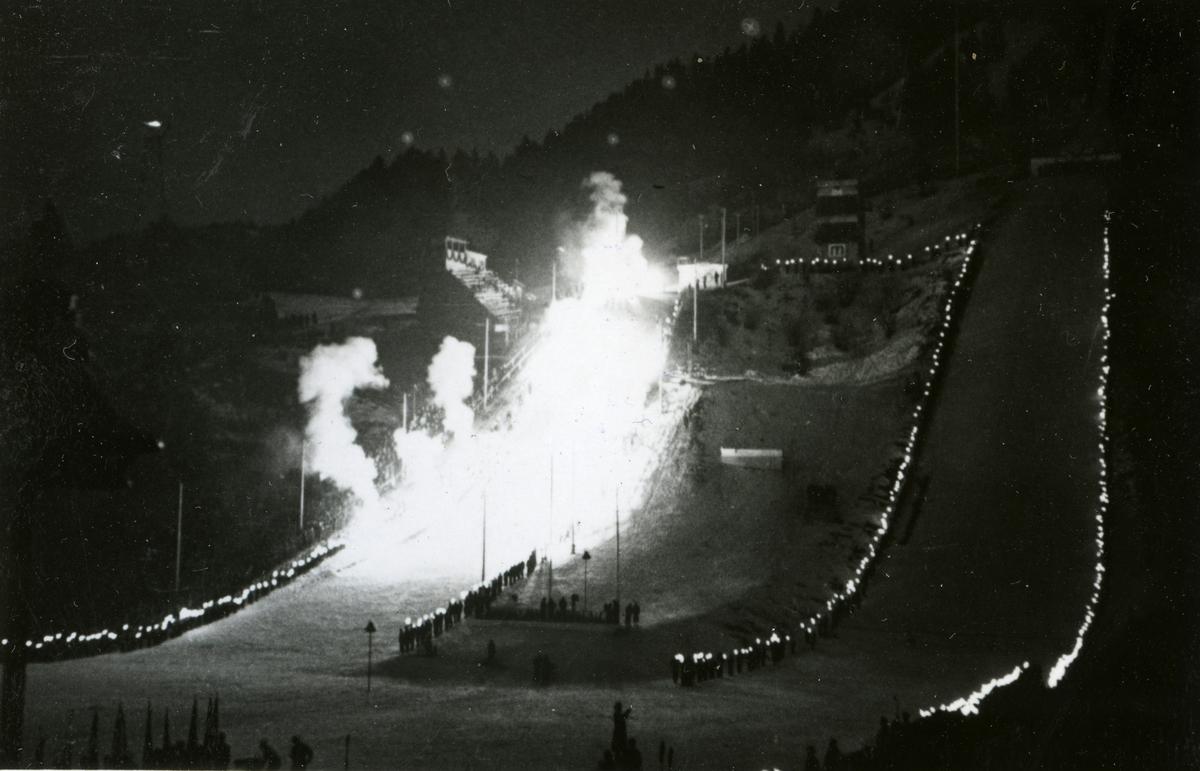 Farewell ceremony at Garmisch