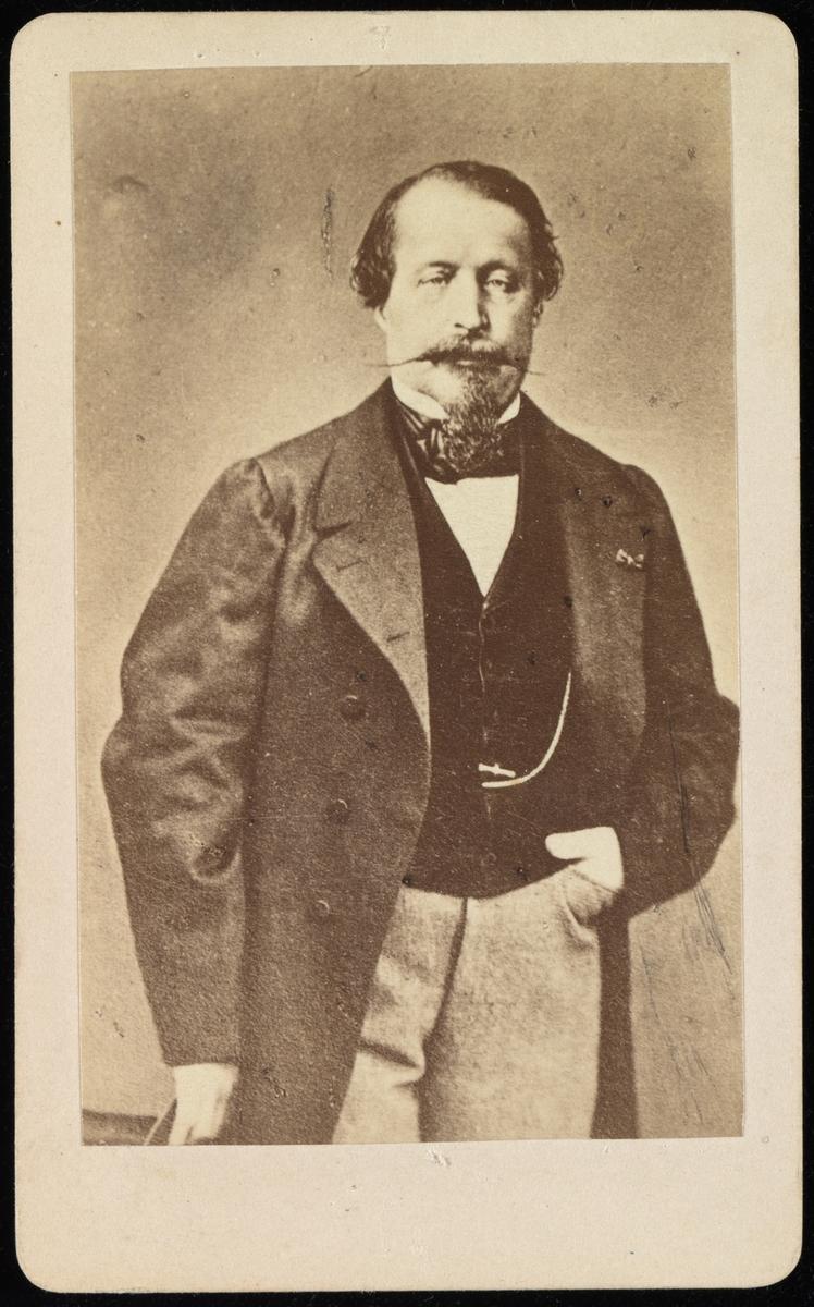 Portrett av Napoleon III keiser av Frankrike.