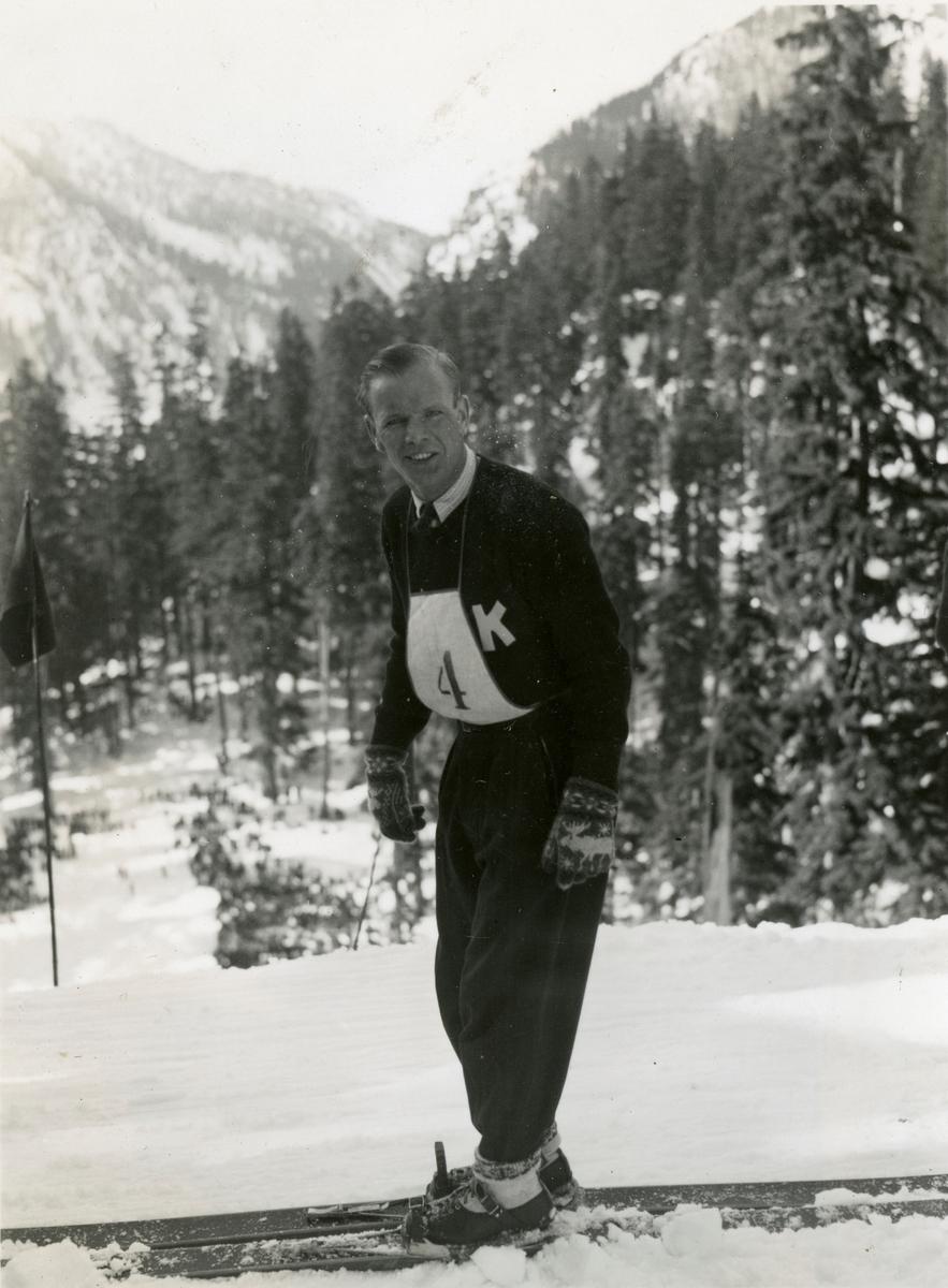 Kongsberg skier Sigmund Ruud in Germany