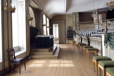 Stortingssalen på Norsk Folkemuseum. Foto/Photo