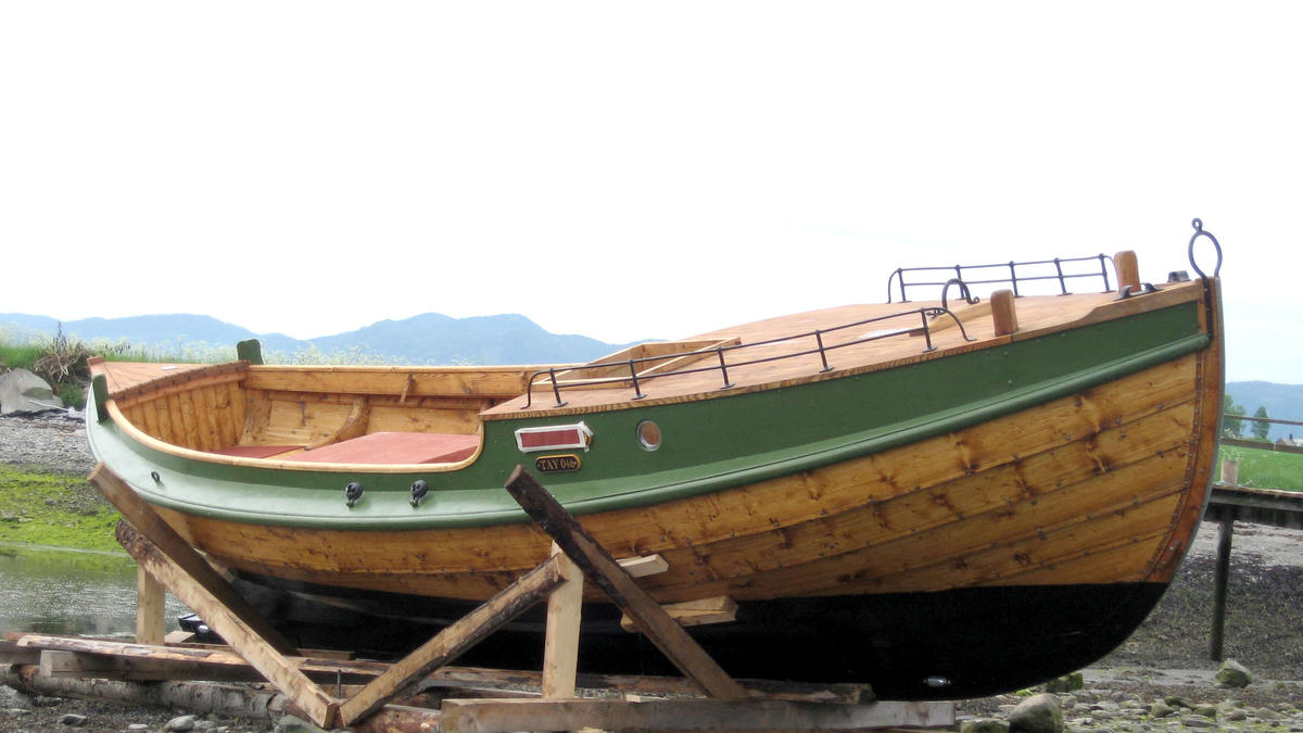 Listerbåten Skarven, bygd 2008.