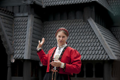 Guided tour of the Stave Church from Gol