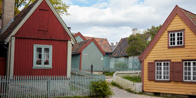 Houses from the suburbs