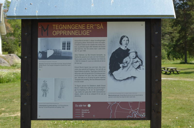 Info board at Klevfos (Foto/Photo)